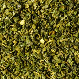 poivron vert déshydraté