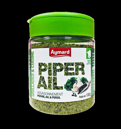 assaisonnement Piper'Ail
