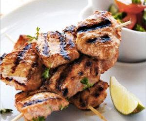 Recette brochettes de dinde, oignons et olives – Assaisonnement Spécial Grill