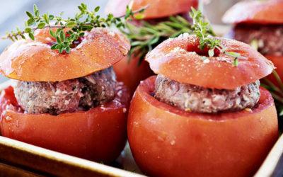 Tomates farcies au bon goût de Provence !