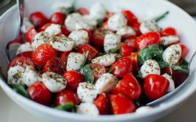 Salade tomate mozzarella