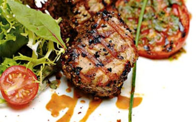 Filet mignon de porc & tomates à la Provençale – Marinade Provençale