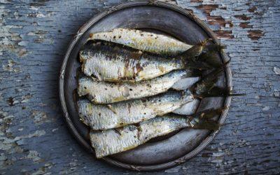 Sardines grillées au four – Fines herbes & poivre de Kampot