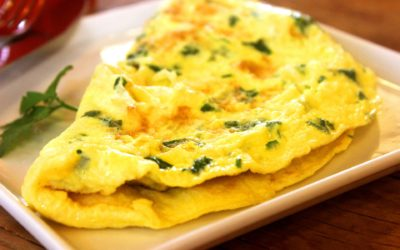 Omelette pascale aux épices