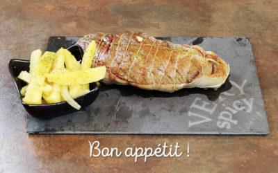 Recette vidéo : Rôti de boeuf gourmand & ses pommes de terre