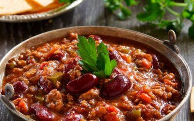 Chili con carne à l'assaisonnement TexMex