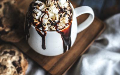 Chocolat chaud de Noël à la Cannelle