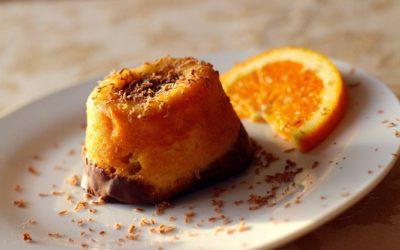Gâteau orange cannelle et chocolat – Sans œufs