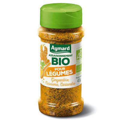 assaisonnement pour légumes bio